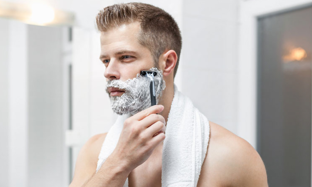 Shave in the shower