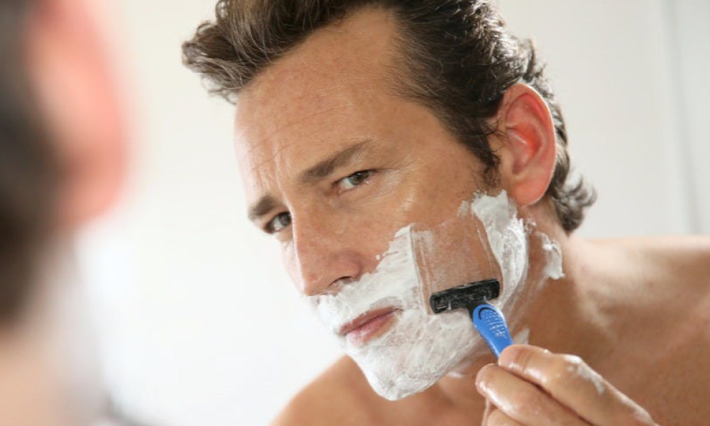 Use a good after-shave product